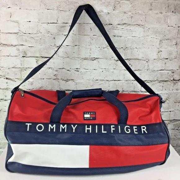 Tommy Hilfiger Duffle Bag Flag Canvas
